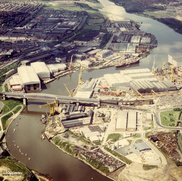 Aerial Photos Sunderland
